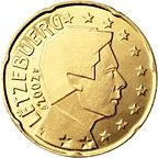 0.20 Euro Luxembourg