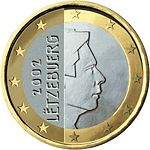 1 Euro Luxembourg