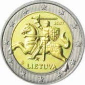 2 Euros Lithuania